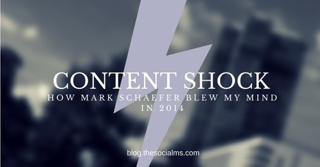 Content Shock: How Mark Schaefer Blew My Mind In 2014 | Digital Marketing Strategy | Scoop.it