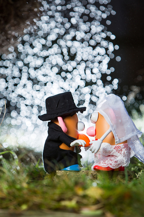 Photographer Mocks Up A Potato Head Wedding To Explain His Job To His Son - | Photography for Journalists | Scoop.it