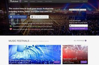 Festicket: la start-up qui organise vos festivals | MANAGER CONSEILS DES MAGASINS DE MODE | Scoop.it
