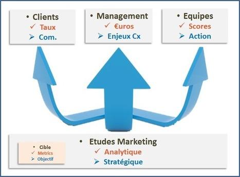 Vos études clients ont 3 publics ! | Fluidifier son parcours client crosscanal pour une expérience client positive | Scoop.it