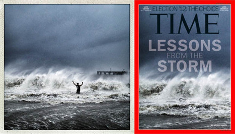 Instagram Photograph of Hurricane Sandy Selected for Cover of ... | Images by iPhone | Scoop.it