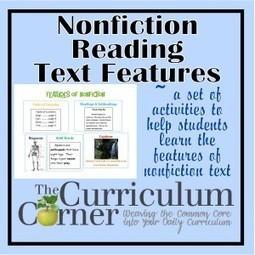 Nonfiction Text Features Lessons   Cool School Ideas   Scoop.it