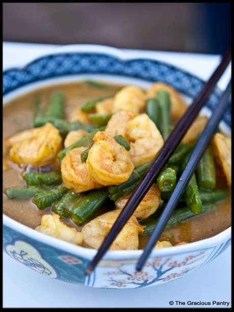 Clean Eating Recipes | Clean Eating Coconut Curry Shrimp with Green Beans | Paleo Diet | Scoop.it