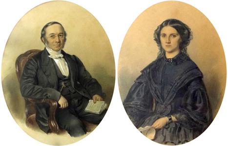 Eugene Casalis et Sophie Bourgeois par J.-F. Dietler | Eugene Casalis_Missionnaire | Scoop.it