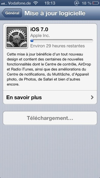 [MAJ] Téléchargez et installez iOS 7 dès maintenant ! Tous les regards sont tournés vers ce dernier   BlogNT   Au fil du Web   Scoop.it