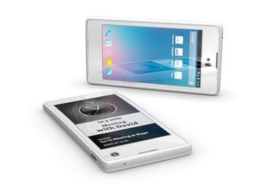 Moitié smartphone Android et moitié ebook reader, innovation présente sur le MWC13 | Android, Iphone : Smartphone, téléphonie mobile et tablettes | Scoop.it
