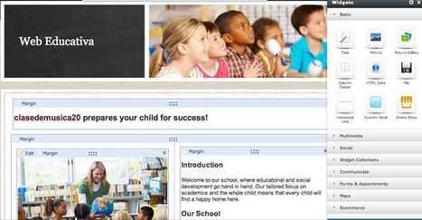 Crea páginas web educativas con Yola | Nuevas tecnologías aplicadas a la educación | Educa con TIC | paprofes | Scoop.it