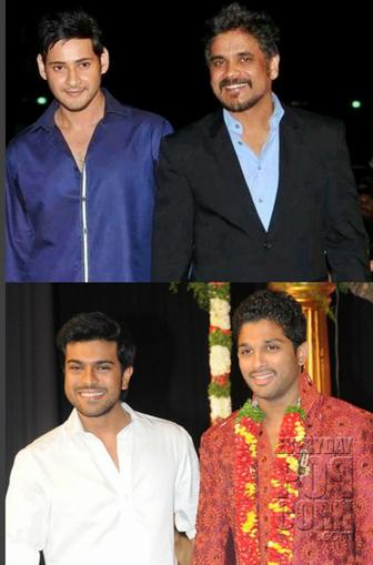 Mahesh-Nag Out, Bunny-Cherry In.!   Telugu cinema News   Scoop.it