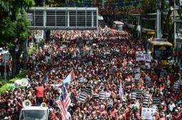 Workers rally on May Day around the world – in pictures | Asian Labour Update | Scoop.it