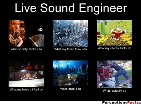 Live Sound Engineer | What I really do | Scoop.it