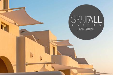 Skyfall Luxury Suites hotel in Pyrgos, Santorini | Hotels in Greece | Scoop.it
