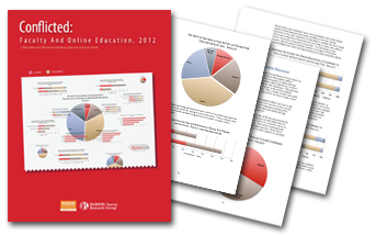 Conflicted: Faculty and Online Education, 2012 | eLearning and research | Scoop.it