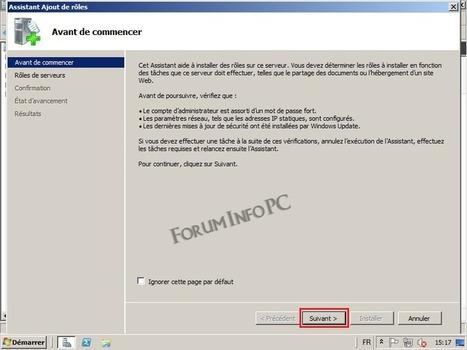 Installation d'un serveur DHCP : Tutoriels Windows Server 2008 - Forum Info PC | Administration Système | Scoop.it