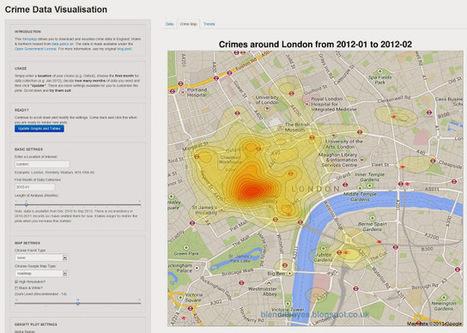 Visualization CrimeMap - #dataviz #maps | e-Xploration | Scoop.it