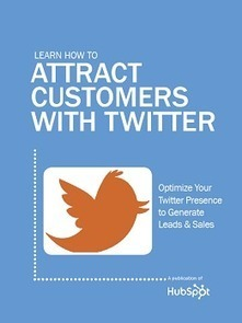 Attract More Customers on Twitter with this Free eBook | visualizing social media | Scoop.it