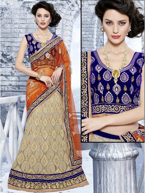 Designer Lehenga |buy Indian designer Lehngas | shopping | Scoop.it