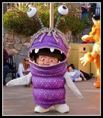 Halloween Tutorial: Boo (Monsters, Inc.) Costume - PART 1 | Boo Monsters Inc Costume | Scoop.it