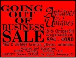 Antiques & Uniques is closing on a high note | Cloverdale California Lifestyle | Scoop.it