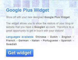 Add a Customizable Google+ Widget to Your Website :: Social Media Marketing Mentor : Tina Cook | Google+ Marketing All News | Scoop.it