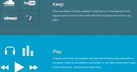 Whyd veut rassembler toutes vos sources musicales sur une plateforme | | Actualités et Tendances -  High-Tech & Technologies | Scoop.it