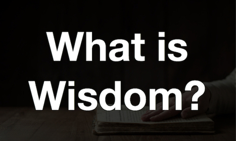 What is Wisdom? Proverbs 1 | Before The Cross | Devotionals | Scoop.it