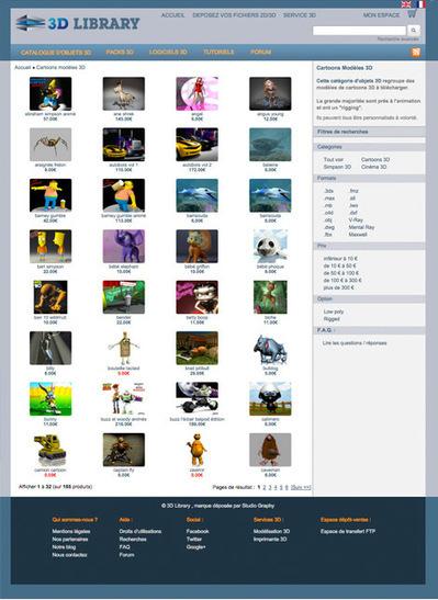 Nouvelle mise en page - 3D Library | 3D Library | Scoop.it