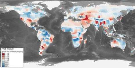 Parched Earth soaks up water, slowing sea level rise: study | Sustain Our Earth | Scoop.it