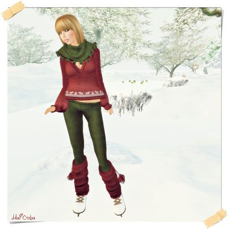 Caótica_May en SL: Winter | Free Stuff in Second Life | Scoop.it