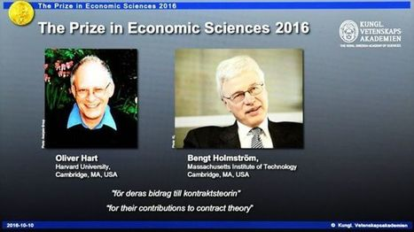 Economists win Nobel for contract theory - BBC News | Extension | Scoop.it