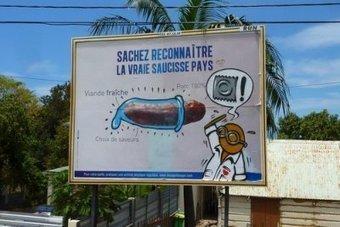 Quand les Gouzous détournent la campagne pour la saucisse pays - Le Journal de l'île de la Réunion | 01 Océan indien DD | Scoop.it