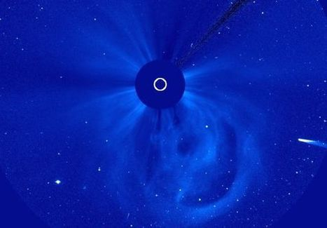 El cometa Ison, captado por el telescopio espacial 'Soho' | El Universo | Scoop.it