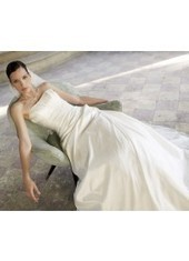 A Line Strapless Court Train Taffeta Ivory Wedding Dress H1ly0025 for $957 | Landybridal 2014 wedding dress | Scoop.it