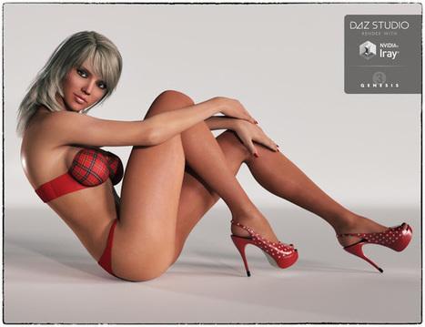 3d Model Art Zone: 3d Models Art Zone - Jesslyn for Genesis 3 Female(s) | 3d Models | Scoop.it