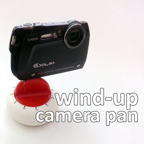 Transform a Kitchen Timer into an Auto-Panning Camera Mount | VIM | Scoop.it