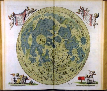 A Survey Of Moon Maps Since the 17th Century - The Awl | Cartography | Scoop.it