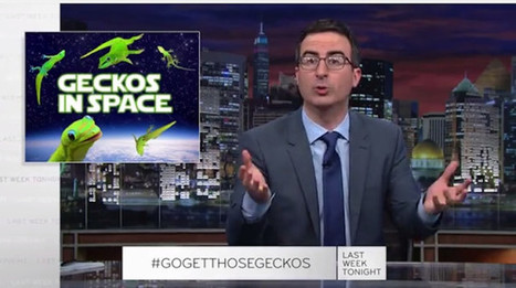 John Oliver Challenges Vladimir Putin To Bring Mating Geckos Back From Space (VIDEO) | enjoy yourself | Scoop.it