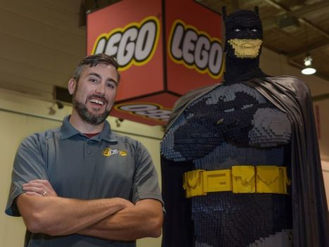 Fortney: Lego master builder has 'The best job in the world' | Comic Book Trends | Scoop.it