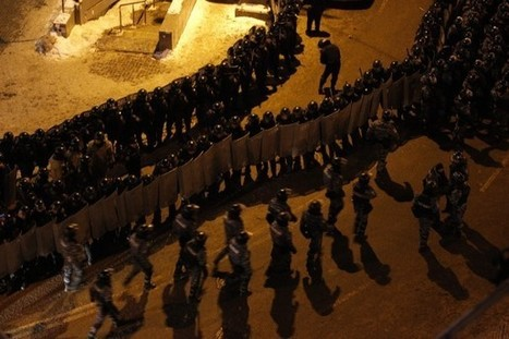 As police raid protests in Ukraine, protesters turn to Twitter and Facebook   Social Media In Law Enforcement   Scoop.it