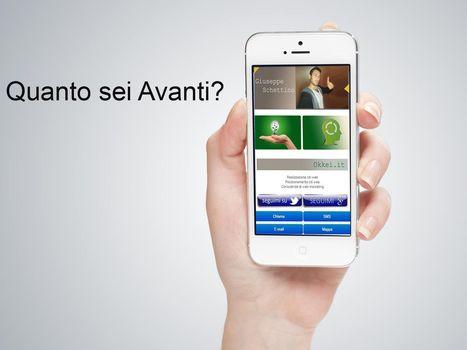 Biglietti da visita digitali iphone e android | pmicomunica | Scoop.it