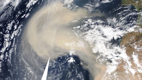 """Lower Visibility in Georgia today due to Saharan Dust 