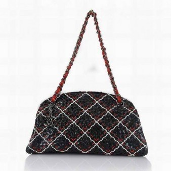 Chanel Bowling Bag 50321 Classic Quilted Black Red Perfect present | Cheap Chanel Outlet Store Online | Scoop.it