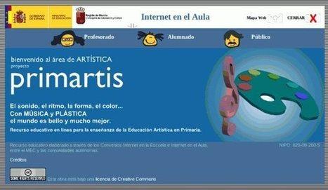 Primartis – Recurso para Educación Artística en Primaria   EnVrac   Scoop.it