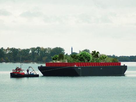Un kickstarter pour créer un potager géant sur un bateau à New York | Attitude BIO | Scoop.it