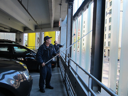 Green parking or greenwashing: can a downtown garage be eco-friendly? | Grid Chicago | Sports Facility Management.4346608. | Scoop.it