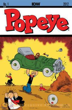 """EXCLUSIVE: Roger Langridge Scraps with """"Popeye"""" - Comic Book Resources   Vintage, Robots, Photos, Pub, Années 50   Scoop.it"""