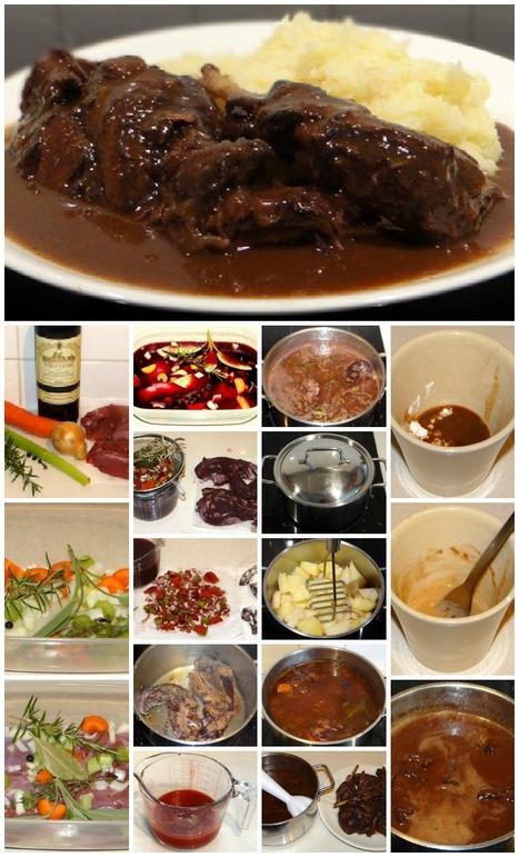 Lepre alla Cacciatora - Hare Legs Stewed in RedWine | Le Marche and Food | Scoop.it