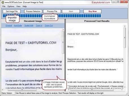 Comment extraire le texte d'une image gratuitement ! | formation 2.0 | Scoop.it
