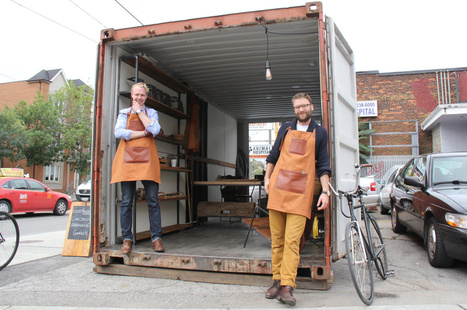 Toronto shipping container on Dundas West drawing crowds | Toronto Star | Mobilities: The Shipping News | Scoop.it