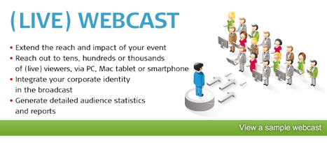 Live Webcast Service | Audio and Web Conferencing Services | Scoop.it