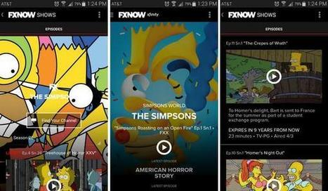 FXNow to Offer Streaming Service The Simpsons World | Technology News | Scoop.it